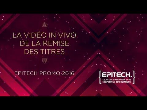 Remise Des Titres Epitech 2016