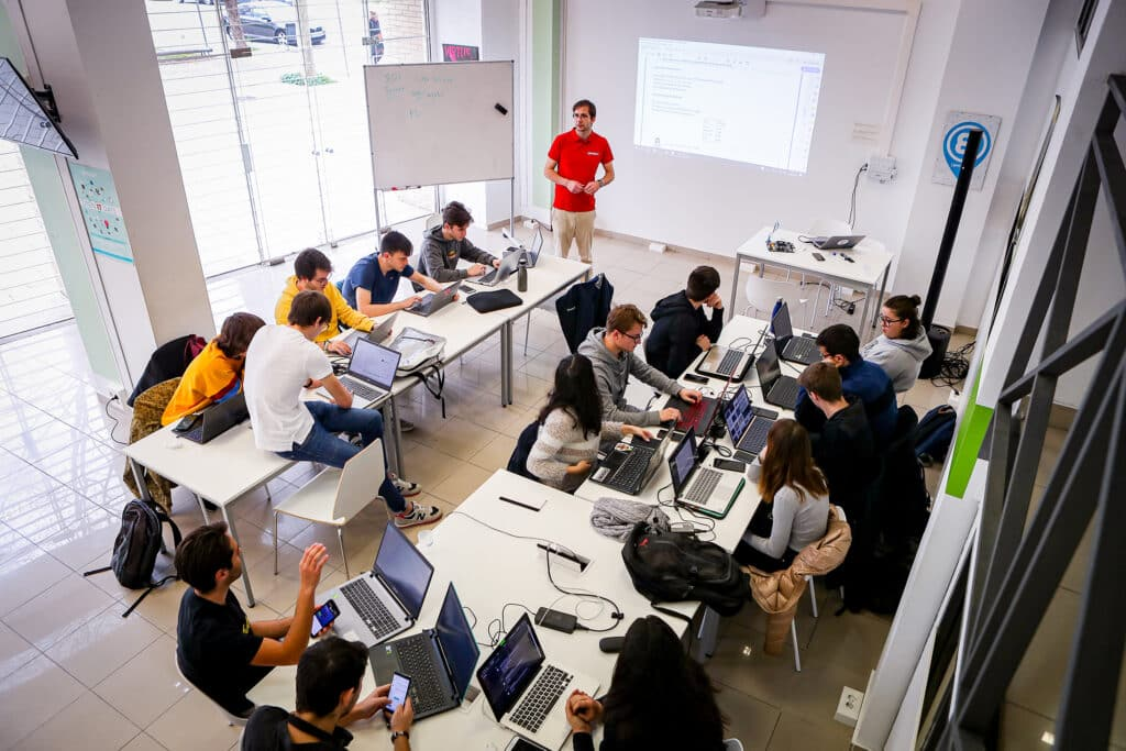 Epitech campus in Spain, computer science school