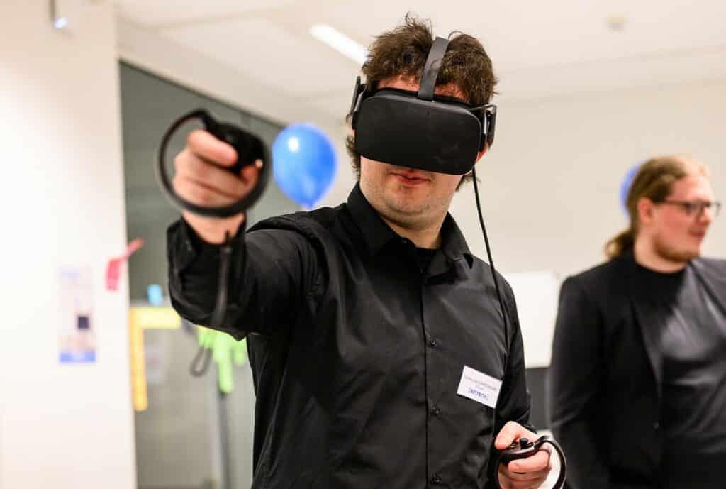Epitech Brussels computer science VR demo